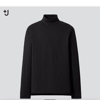 UNIQLO - UNIQLO × JIL SANDER スーピマコットン モックネックT 黒