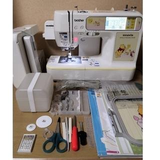 brother - ブラザー刺繍ミシン プーさん WP1200