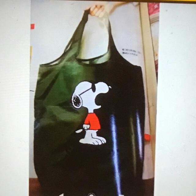 SNOOPY(スヌーピー)のレタスクラブ 付録 レディースのバッグ(エコバッグ)の商品写真