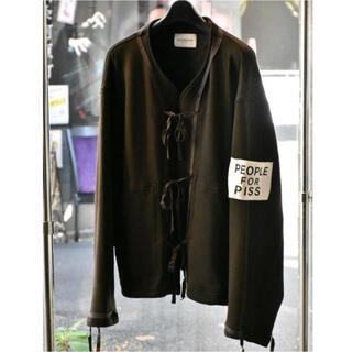 Supreme - Black Weirdos Cut Jacket カンフージャケット