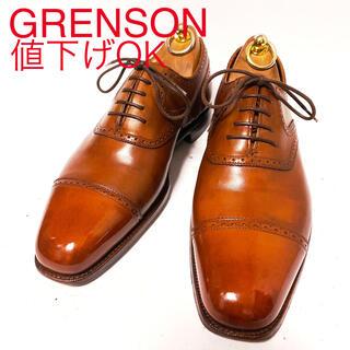 クロケットアンドジョーンズ(Crockett&Jones)の491.GRENSON MasterPiece パンチドキャップトゥ 7(ドレス/ビジネス)
