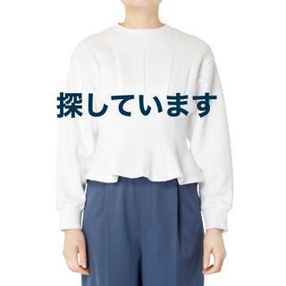 ルシェルブルー(LE CIEL BLEU)のLE CIEL BLUE Corset Seam Sweatshirt(ニット/セーター)