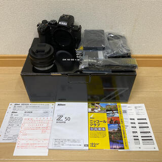 Nikon - ほぼ新品 ニコン Z50 16-50レンズセット⭐️最終値下げ⭐️
