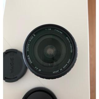SIGMA - SIGMA 24mm 2.8 sony Eマウント アダプター付き