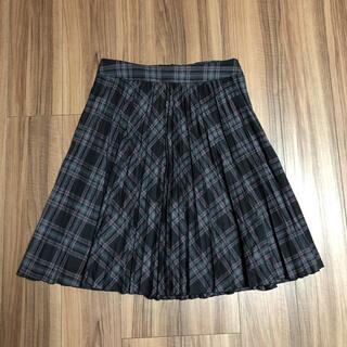 コムサデモード(COMME CA DU MODE)のコムサデモード  13号 チェックプリーツスカート(ひざ丈スカート)