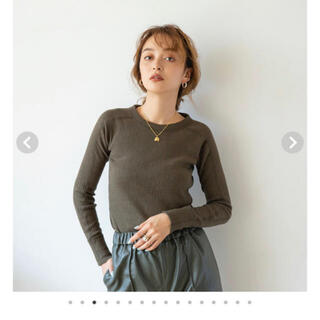 シールームリン(SeaRoomlynn)のシールームリン カットソー Vintage Fabric RIB Long-T(カットソー(長袖/七分))
