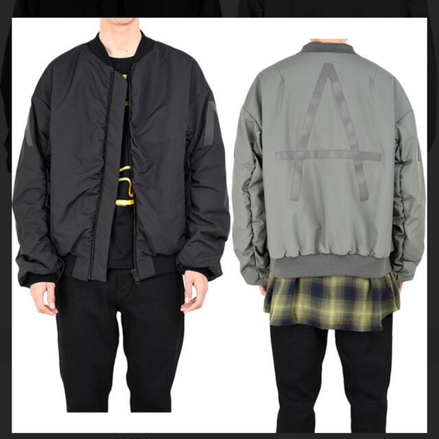 LAD MUSICIAN(ラッドミュージシャン)のlad musician 17aw MA-1 ブルゾン メンズのジャケット/アウター(ブルゾン)の商品写真