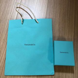 ティファニー(Tiffany & Co.)のティファニー 空箱 ショップ袋(ショップ袋)