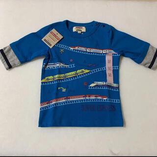 マザウェイズ(motherways)の97 マザウェイズ 新幹線 七分袖シャツ(Tシャツ/カットソー)