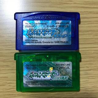 ポケモン - (97)ポケモン GBA エメラルド サファイア セット