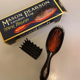 MASON PEARSON - メイソンピアソン ハンディブリッスル ヘアブラシ ダークルビー
