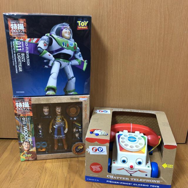 トイ・ストーリー(トイストーリー)のトイストーリー 3点セット エンタメ/ホビーのおもちゃ/ぬいぐるみ(キャラクターグッズ)の商品写真