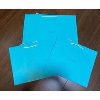 ティファニー(Tiffany & Co.)の【だいさん専用】ティファニー紙袋 2枚セット(ショップ袋)