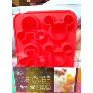 ディズニー(Disney)のディズニー シリコン アイストレー ミッキー(調理道具/製菓道具)