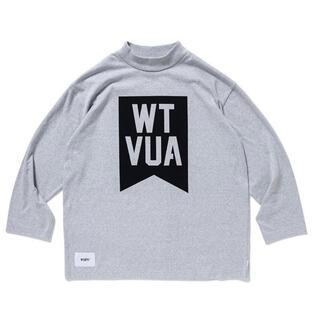 ダブルタップス(W)taps)のWTAPS 19SS ACADEMY LS オリーブ Lサイズ(Tシャツ/カットソー(七分/長袖))