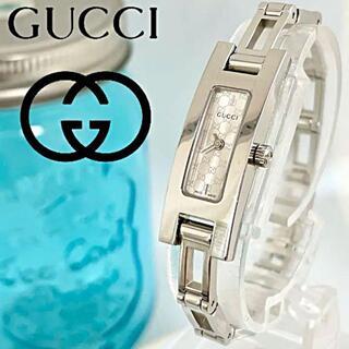 Gucci - 146 グッチ時計 美品 レディース腕時計 新品電池 スクエア 3900L