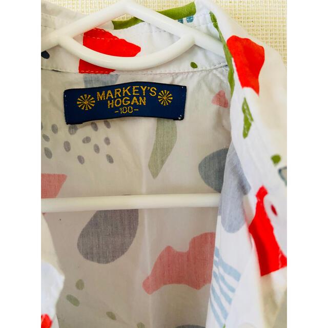 MARKEY'S(マーキーズ)のマーキーズ シャツ 100サイズ キッズ/ベビー/マタニティのキッズ服男の子用(90cm~)(ブラウス)の商品写真