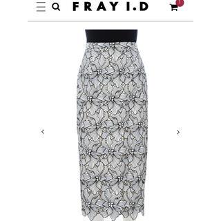 FRAY I.D - 限定 フレイアイディー ケミカルレーススカート