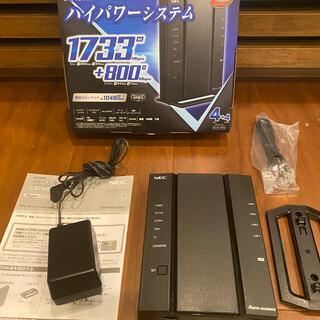 エヌイーシー(NEC)のNEC ルーター Aterm WG2600HS2 (PC周辺機器)