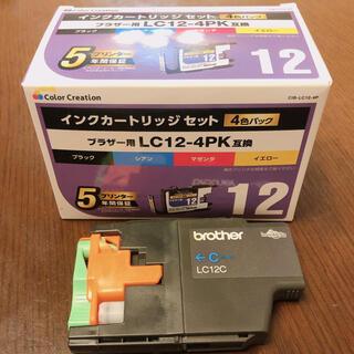 brother - 【期間限定お値下げ】【おまけ付】インク ブラザー LC12-4PK交換