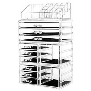 メイク収納 メイクボックス コスメ収納ボックス アクリルボックス(メイクボックス)