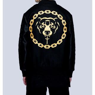 ミシカ(MISHKA)のLONG Death Adder Chain Varsity Jacket  M(スタジャン)
