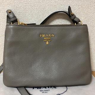 PRADA - プラダ ショルダーバッグ グレー