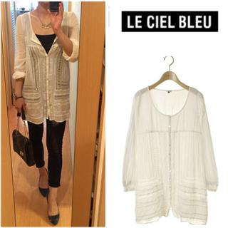ルシェルブルー(LE CIEL BLEU)のLE CIEL BLEU ホワイトシャツ(シャツ/ブラウス(長袖/七分))
