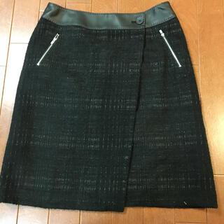 コムサデモード(COMME CA DU MODE)のコムサデモード 冬用 タイトスカート(ひざ丈スカート)
