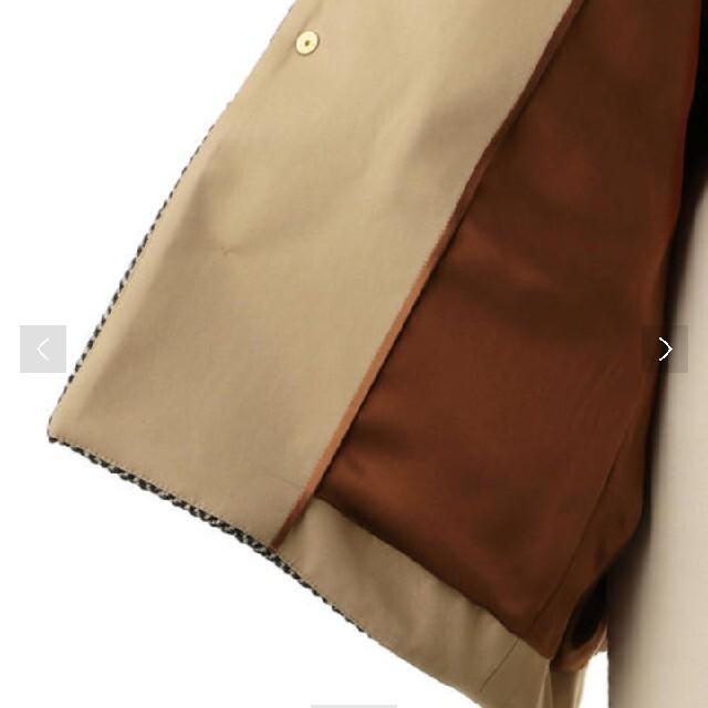 Drawer(ドゥロワー)のDrawerドゥロワー ヘリンボーンノーカラージャケット  レディースのジャケット/アウター(ノーカラージャケット)の商品写真