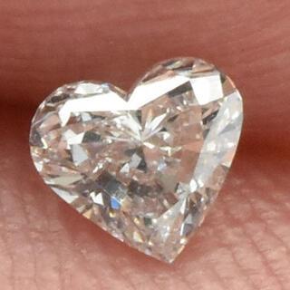 綺麗 ハート 天然ダイヤモンド 0.240ct ルース 裸石