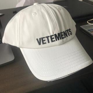 Balenciaga - VETEMENTS ベースボールキャップ 新品