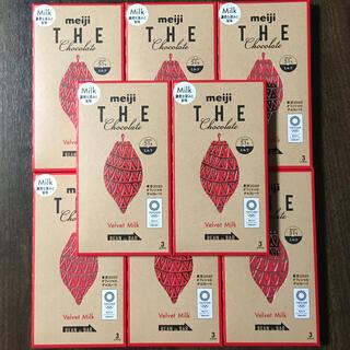 明治 - 【新品未開封】meiji THE Chocolate VelvetMilk 8箱
