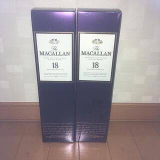 サントリー(サントリー)のマッカラン MACALLAN 18年 シングルモルト 1997年 2本セット(ウイスキー)