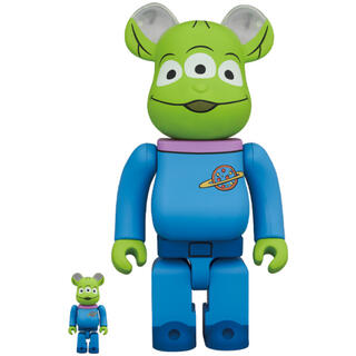 MEDICOM TOY - be@rbrick toy story alien 100%&400%