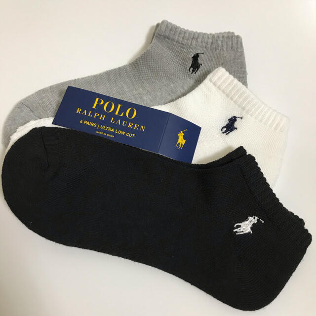 POLO RALPH LAUREN(ポロラルフローレン)のラルフローレン  靴下 レディース  新品  レディースのレッグウェア(ソックス)の商品写真