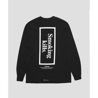 ヴァンキッシュ(VANQUISH)のSmoking kills Box Logo Longsleeve(Tシャツ/カットソー(七分/長袖))