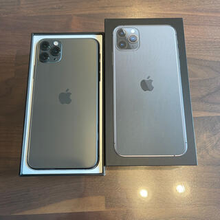 Apple - iPhone 11 pro max SIMフリー SIMロック解除済 256gb