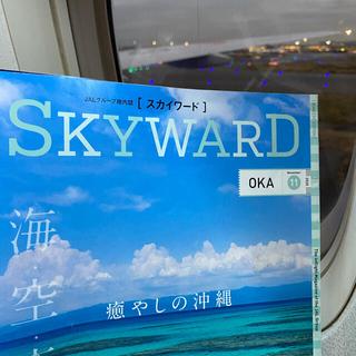 アラシ(嵐)のJAL機内誌 SKYWARD スカイワード 2冊(アート/エンタメ/ホビー)