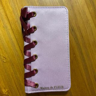 メゾンドフルール(Maison de FLEUR)のMaison de FLEUR iPhoneケース 手帳型(iPhoneケース)