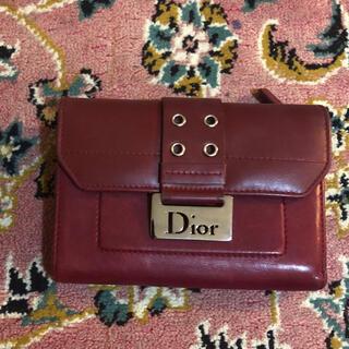 クリスチャンディオール(Christian Dior)のchristian diorクリスチャンディオール折りたたみ財布(財布)