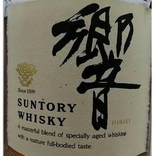 サントリー(サントリー)の響 ( 旧17年 ) 金キャップ 古酒 未開栓 700ml(ウイスキー)