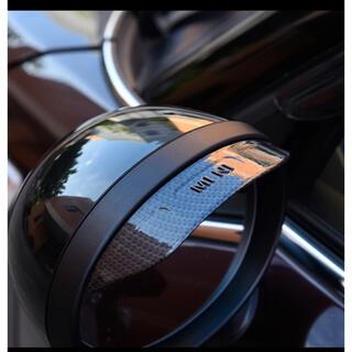 BMWミニクーパー サイドリアミラー用 雨ガード