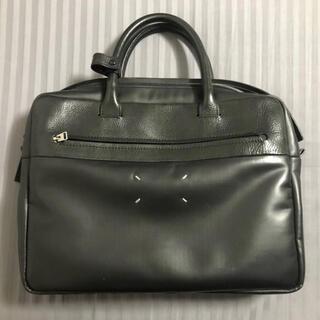Maison Martin Margiela - 美品メゾン マルジェラ ブリーフケース 鞄 牛革 黒 11 ハンドバッグ