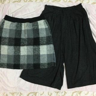 UNIQLO - UNIQLO  スカート&ガウチョパンツ  140㎝