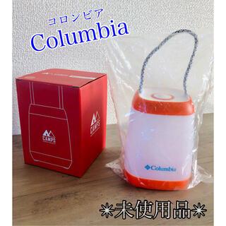 コロンビア(Columbia)の【非売品】コロンビア LED  ランタン 3段調光 ノベルティ キャンプ(ライト/ランタン)