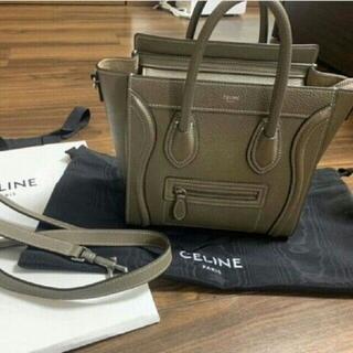 celine - CELINE ラゲージ マイクロ スリ