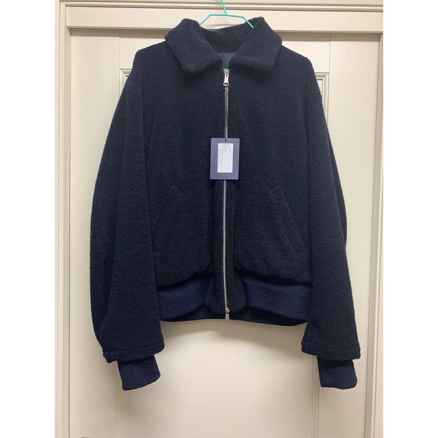 STUDIOUS(ステュディオス)のURU 18AW ボアブルゾン メンズのジャケット/アウター(ブルゾン)の商品写真
