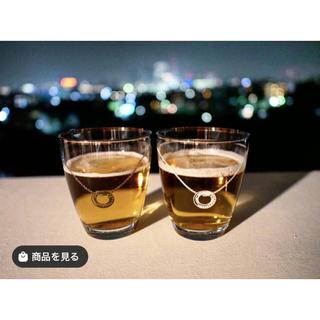 スワロフスキー(SWAROVSKI)のLARA Christie ペアグラス プラチナスワロフスキー タンブラー(グラス/カップ)
