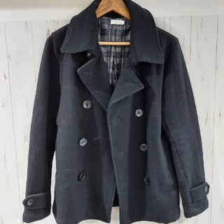 ビブジョー(VIBGYOR)のPコート ブラック(ピーコート)